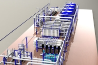 Модель установки водоподготовки